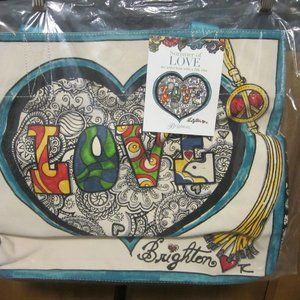 Love Canvas Tote NIBWT